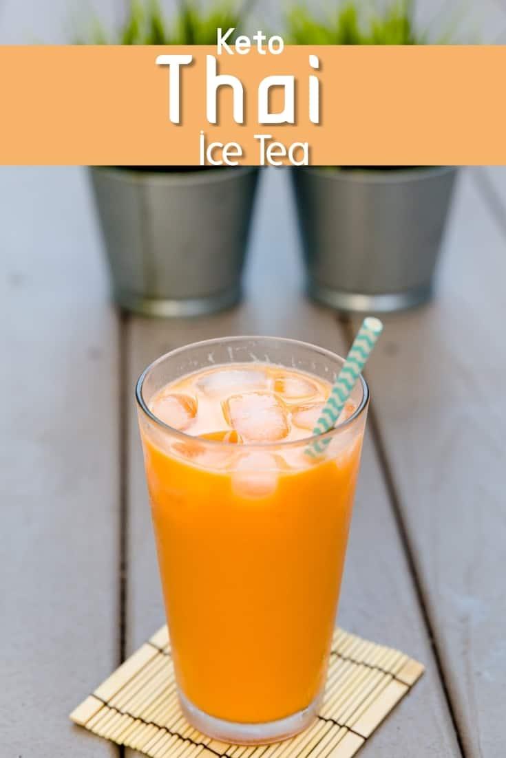 keto Thai Iced Tea pin 2