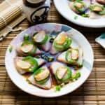 keto Hamachi Yellowtail Garlic Jalapeno Carpaccio in Yuzu Sauce cover