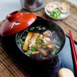 keto Chicken and Shiitake Mushroom Umami Soup cover