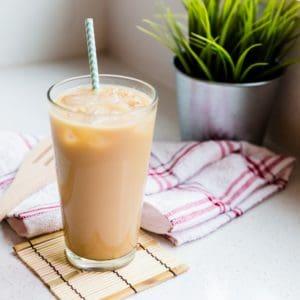 keto Iced Vanilla Chai Tea Latte cover