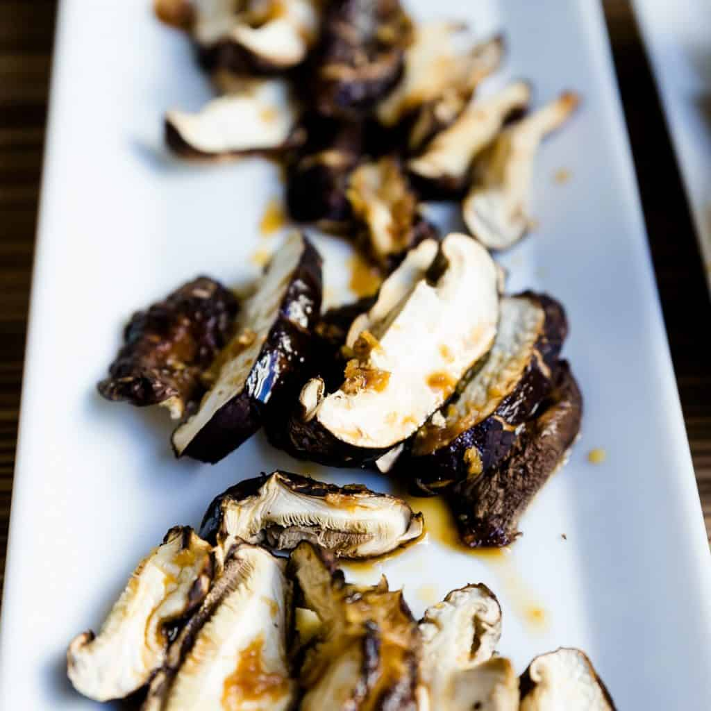 keto Japanese Shiitake Mushroom in Ginger Ponzu Sauce pic