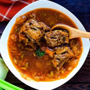 Asian Style Oxtail Borscht Soup LowCarbingAsian Cover