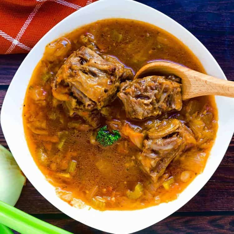 Asian Style Oxtail Borscht Soup LowCarbingAsian Cover 3