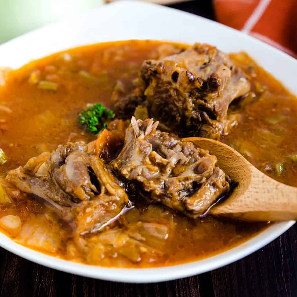 Asian Style Oxtail Borscht Soup LowCarbingAsian Pic 1