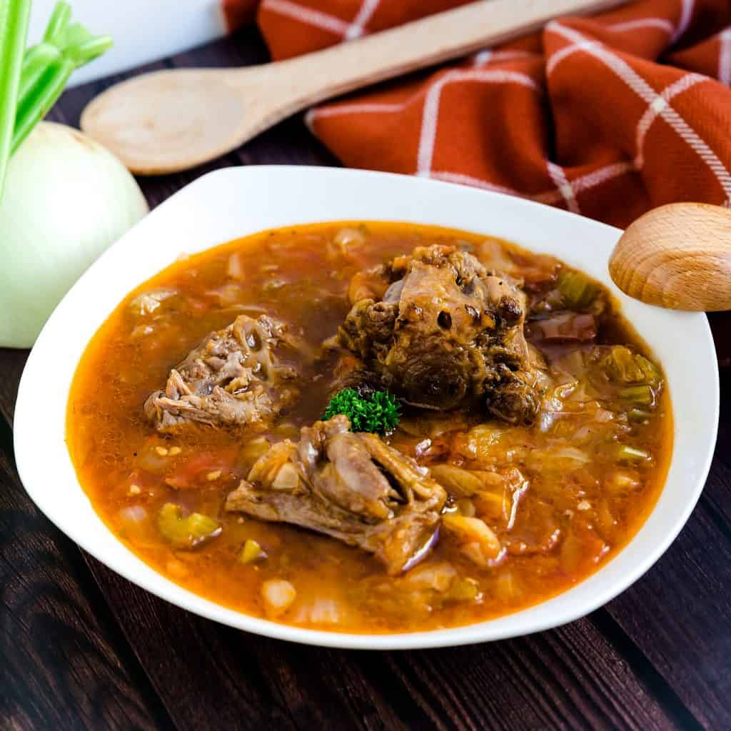 Asian Style Oxtail Borscht Soup LowCarbingAsian Pic 2