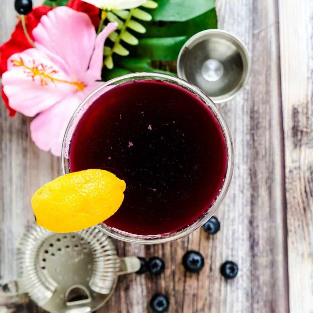 Berry Rum Soda LowCarbingAsian Pic 1
