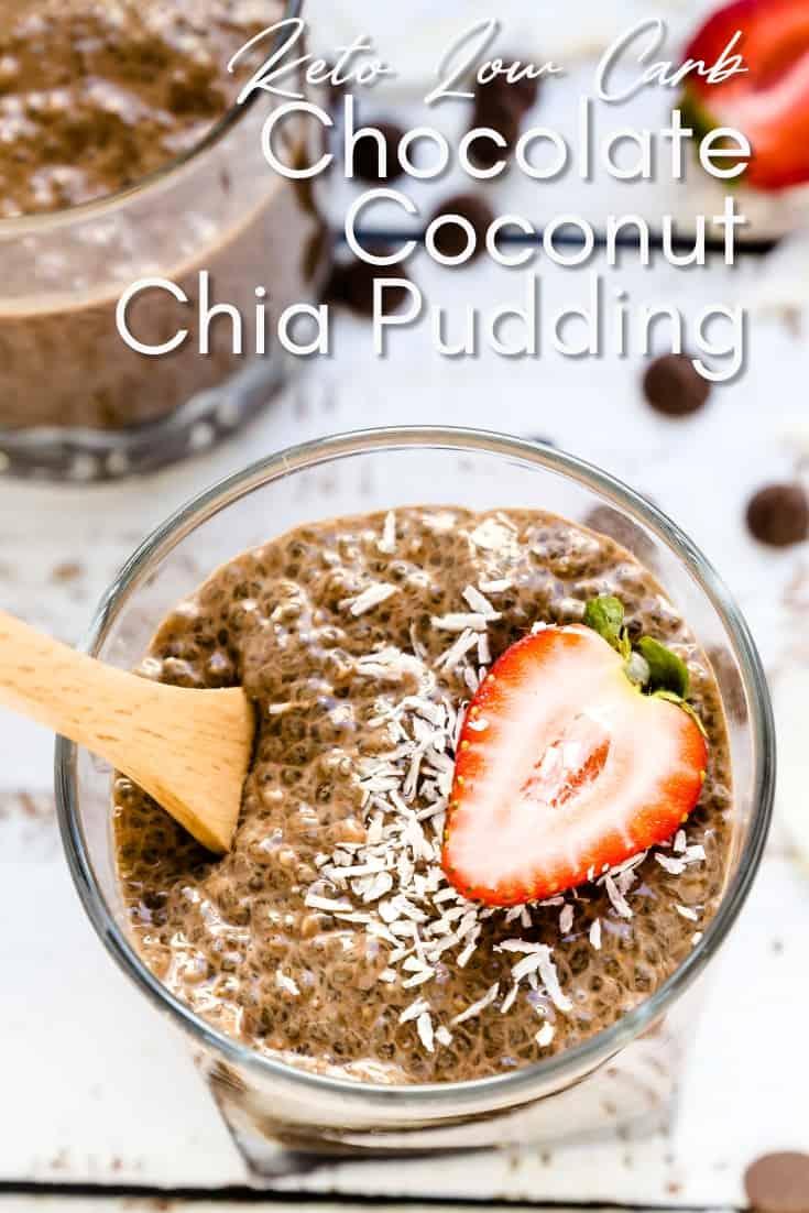 Chocolate Coconut Chia Pudding Pin 2