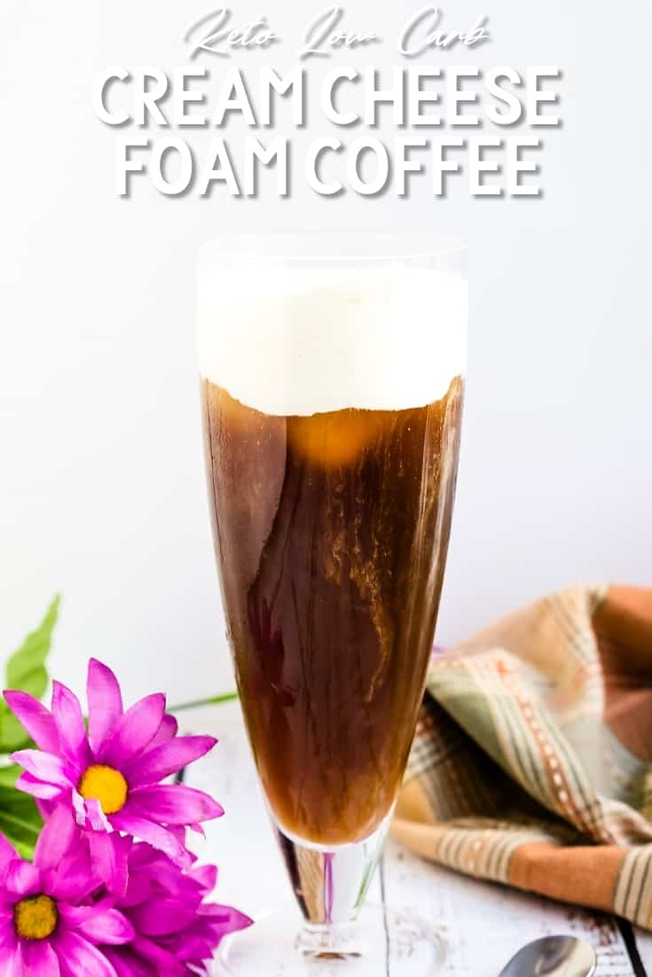 Cream Cheese Foam Coffee