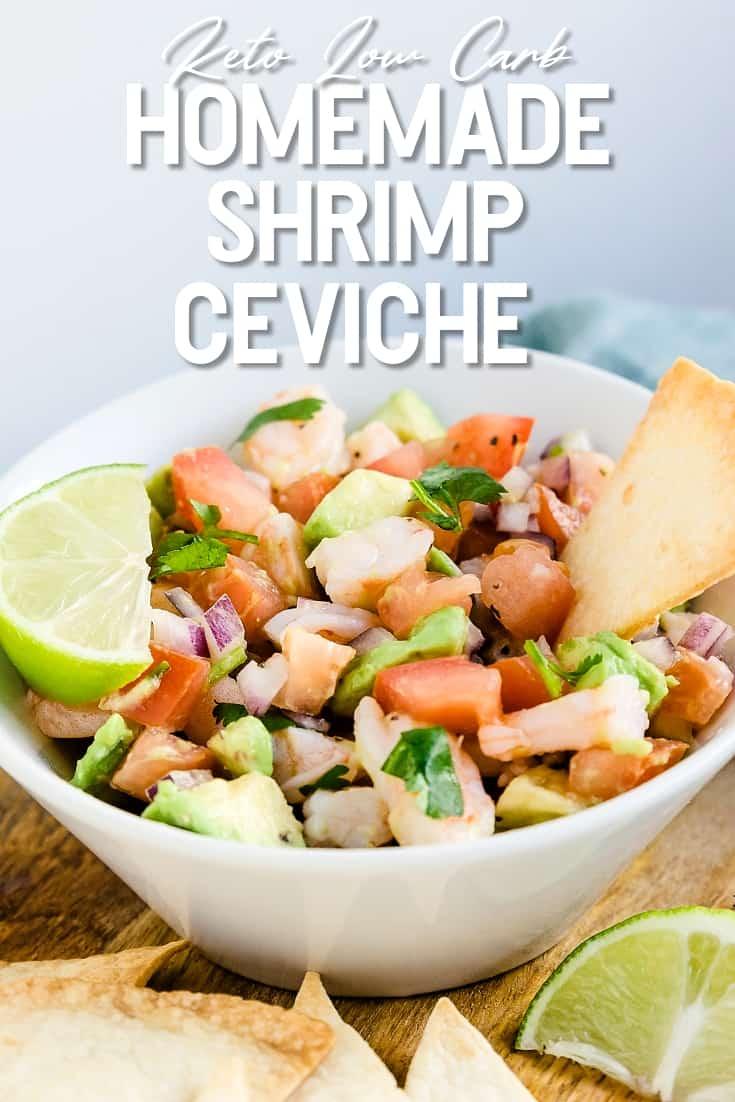 Homemade Shrimp Ceviche
