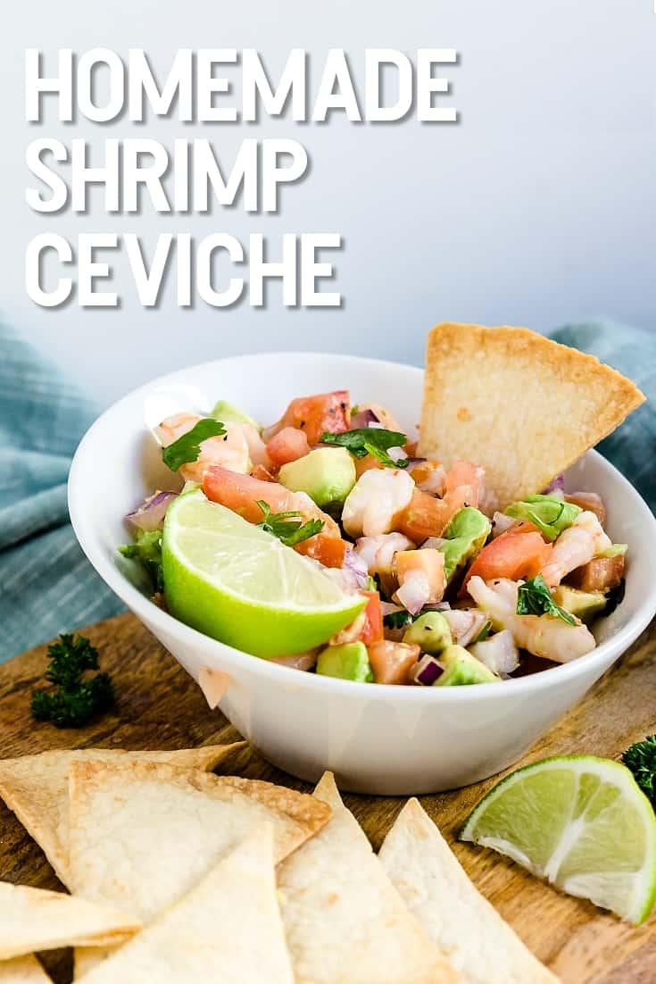 Homemade Shrimp Ceviche LowCarbingAsian Pin 2