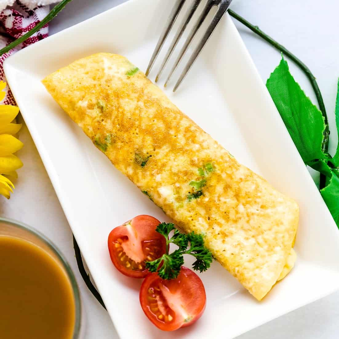 Japanese Breakfast Egg Roll Up In 5 Minutes Lowcarbingasian