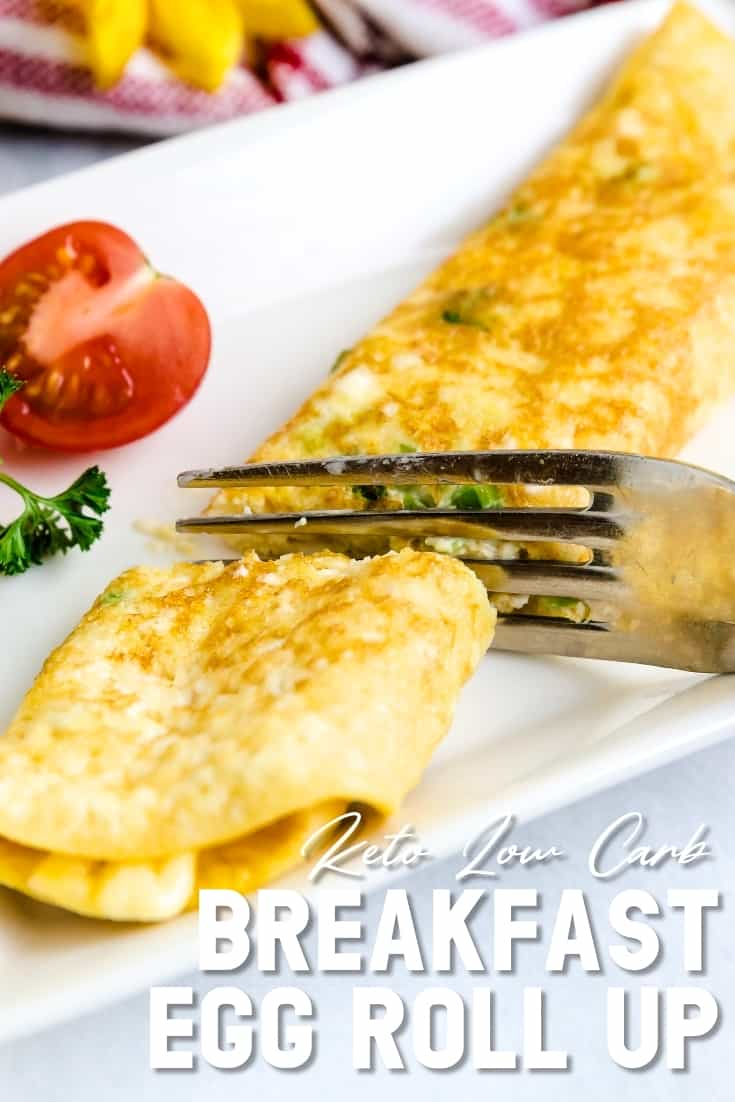 Japanese Breakfast Egg Roll Up LowCarbingAsian Pin 1