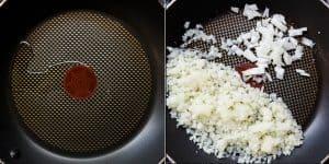 Japanese Garlic Beef Cauliflower Fried Rice - Chahan Recipe (35)