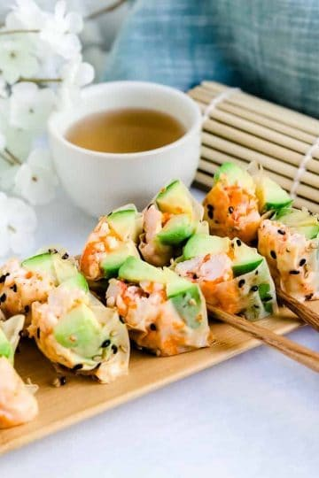 Lobster Sushi Rolls LowCarbingAsian Cover