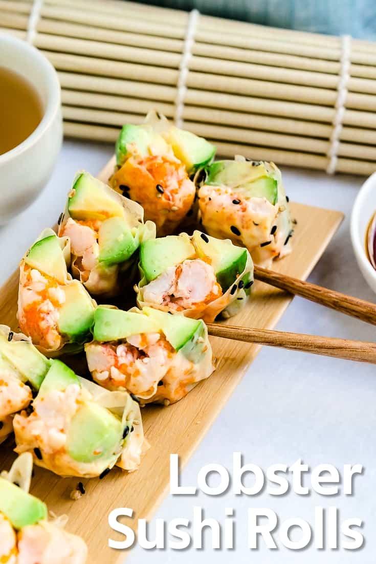 Lobster Sushi Rolls