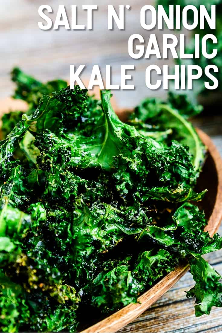 Salt n' Onion Garlic Kale Chips LowCarbingAsian Pin 2