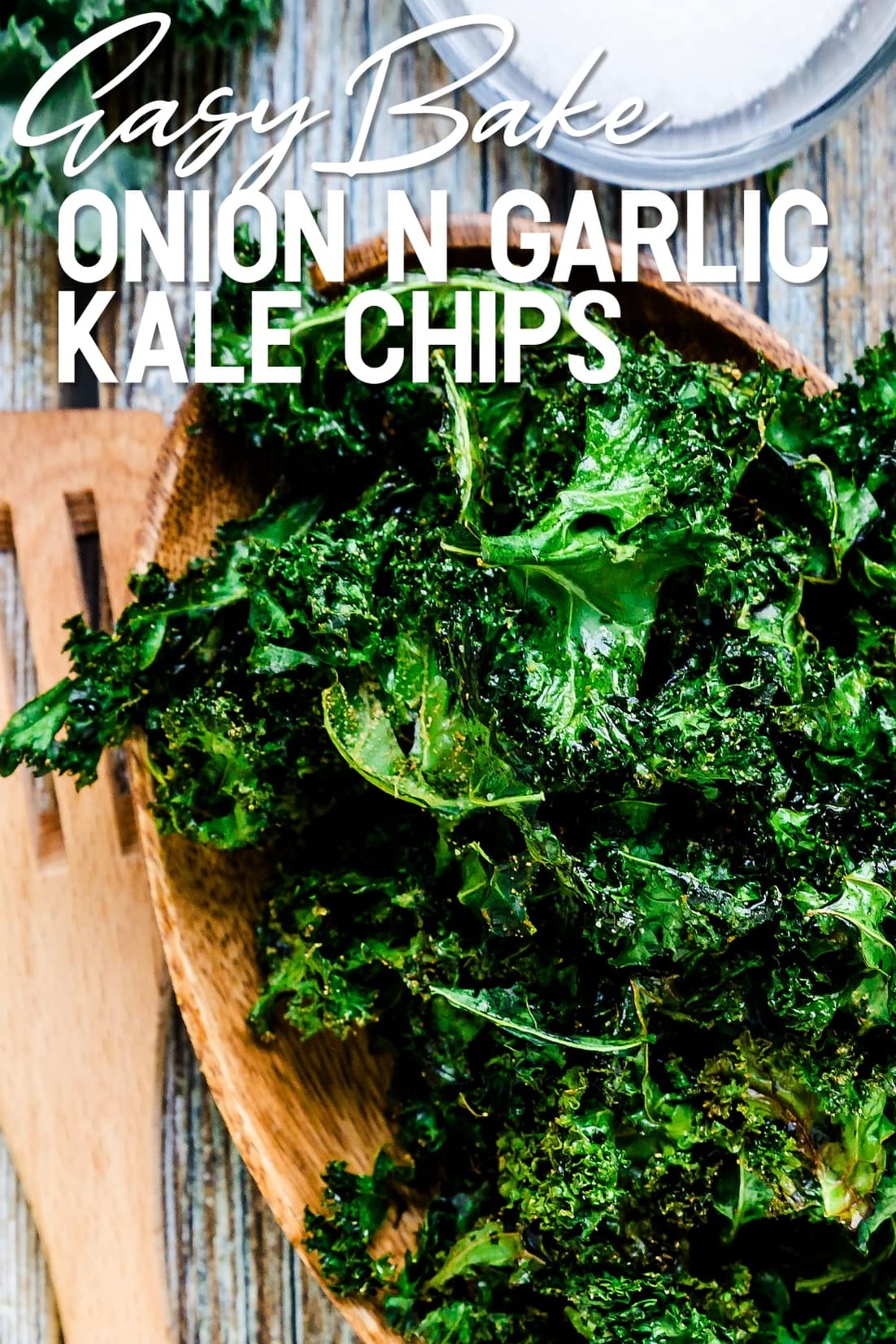 Kale Chips top down