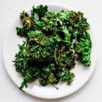 Salt n' Onion Garlic Kale Chips Recipe (23)