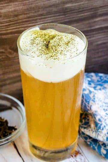 Sea Salt Iced Green Tea LowCarbingAsian Cover