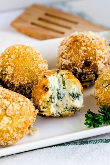 Spinach and Artichoke Cream Cheese Balls LowCarbingAsian Cover