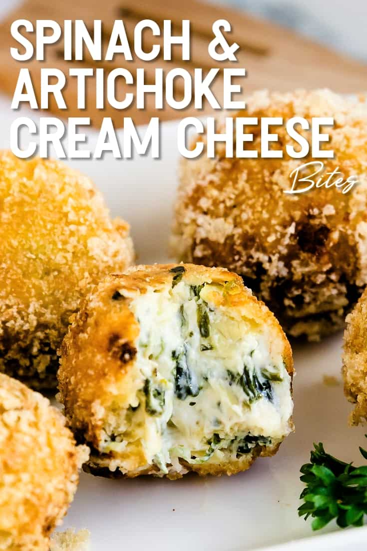 Spinach and Artichoke Cream Cheese Balls LowCarbingAsian Pin 2