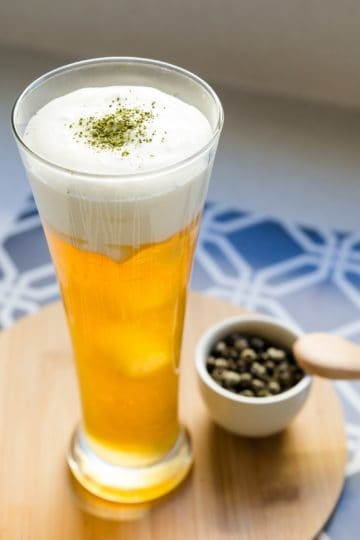 keto Cream Cheese Foam Green Tea cover