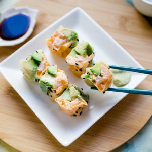 Keto Lobster Sushi Rolls cover
