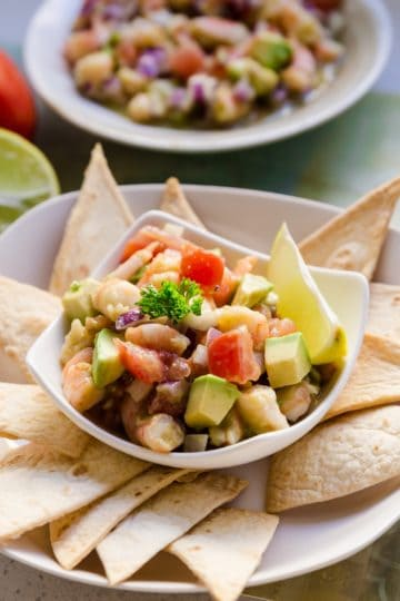 keto Easy Shrimp Ceviche cover