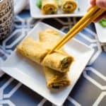 keto Japanese Breakfast Egg Roll Up cover