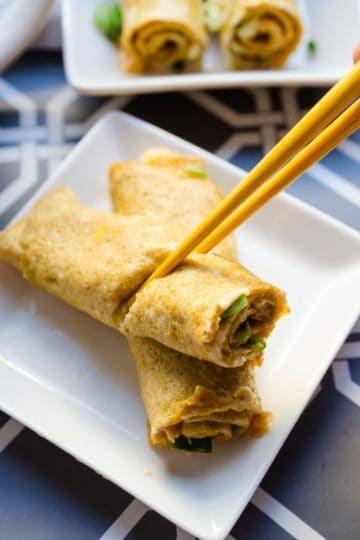 keto Japanese Breakfast Egg Roll Up cover