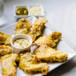 keto Parmesan Crusted Chicken Strips with Japanese Spicy Mayo cover
