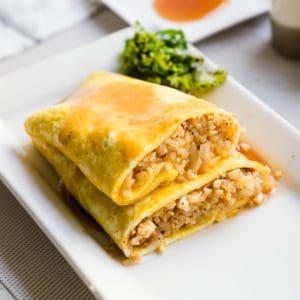 keto Japanese Omelette Cauliflower Rice cover