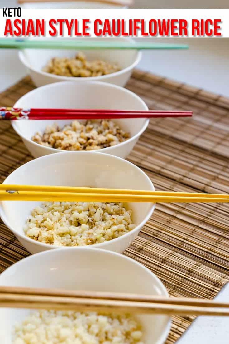 keto ways to Prepare Cauliflower Rice pin 2