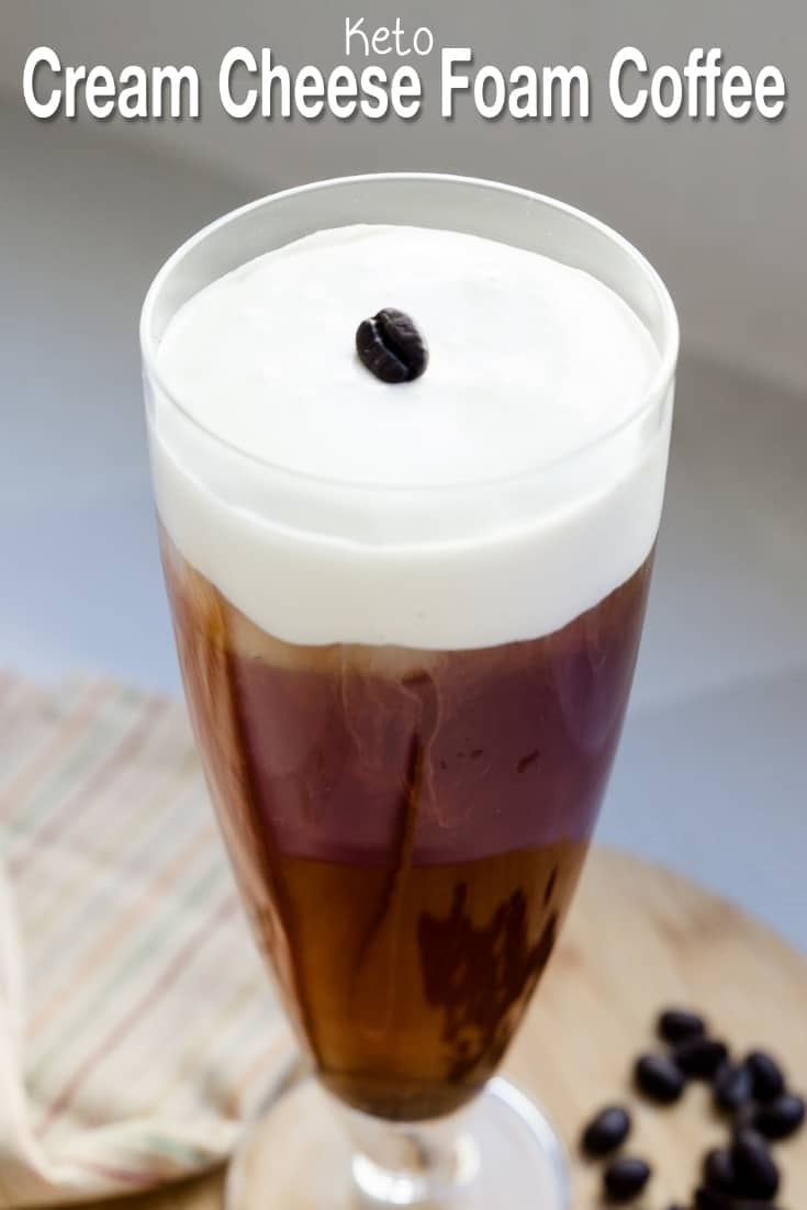 keto Cream Cheese Foam Coffee pin 2