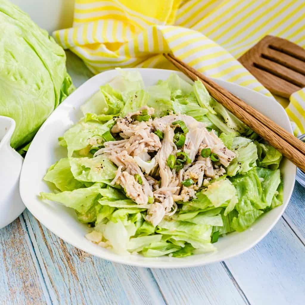 Chinese Chicken Salad LowCarbingAsian Pic 1