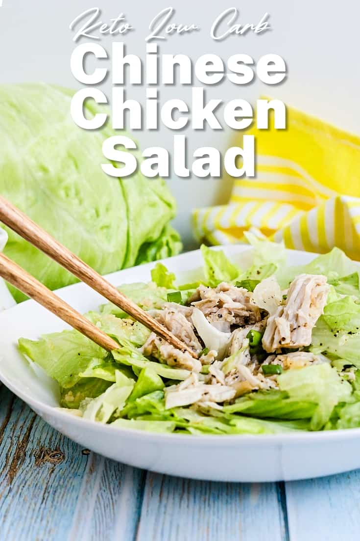 Chinese Chicken Salad LowCarbingAsian Pin 2