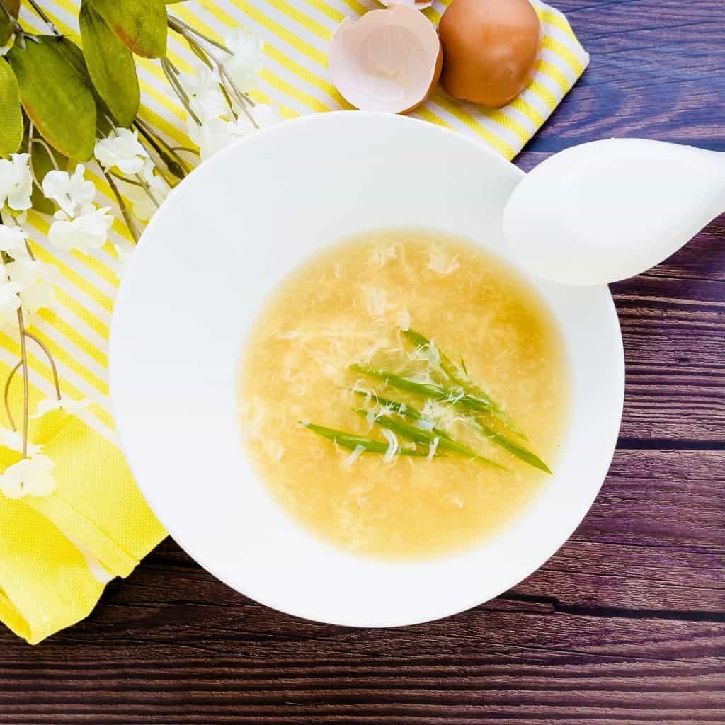 Egg Drop Soup LowCarbingAsian Pic 1