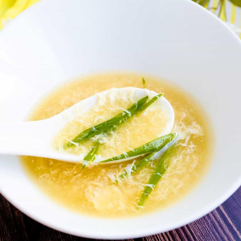 Egg Drop Soup LowCarbingAsian Pic 2