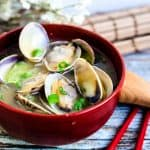 Japanese Asari Clam Miso Soup LowCarbingAsian Cover
