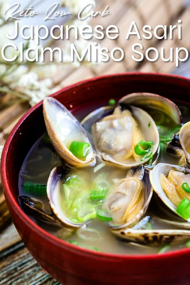 Japanese Asari Clam Miso Soup