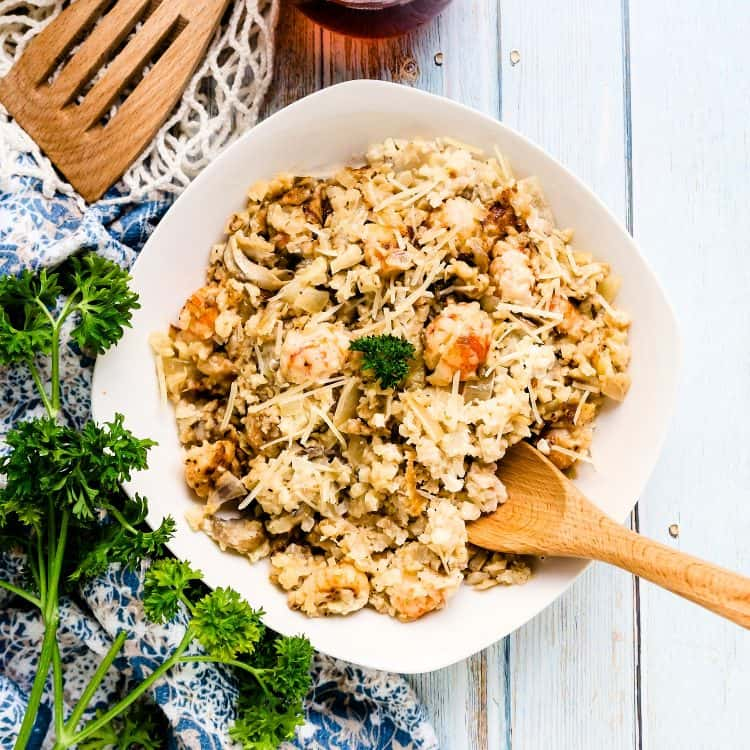 Keto Lobster Risotto LowCarbingAsian Cover