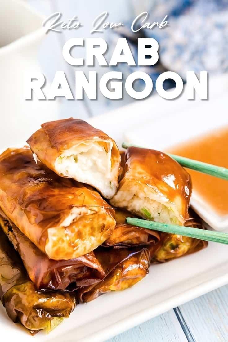 Keto Low Carb Crab Rangoon