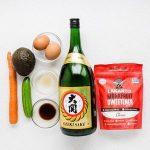 Sushi Vegetable Egg Roll Up (1)