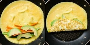 Sushi Vegetable Egg Roll Up (36)