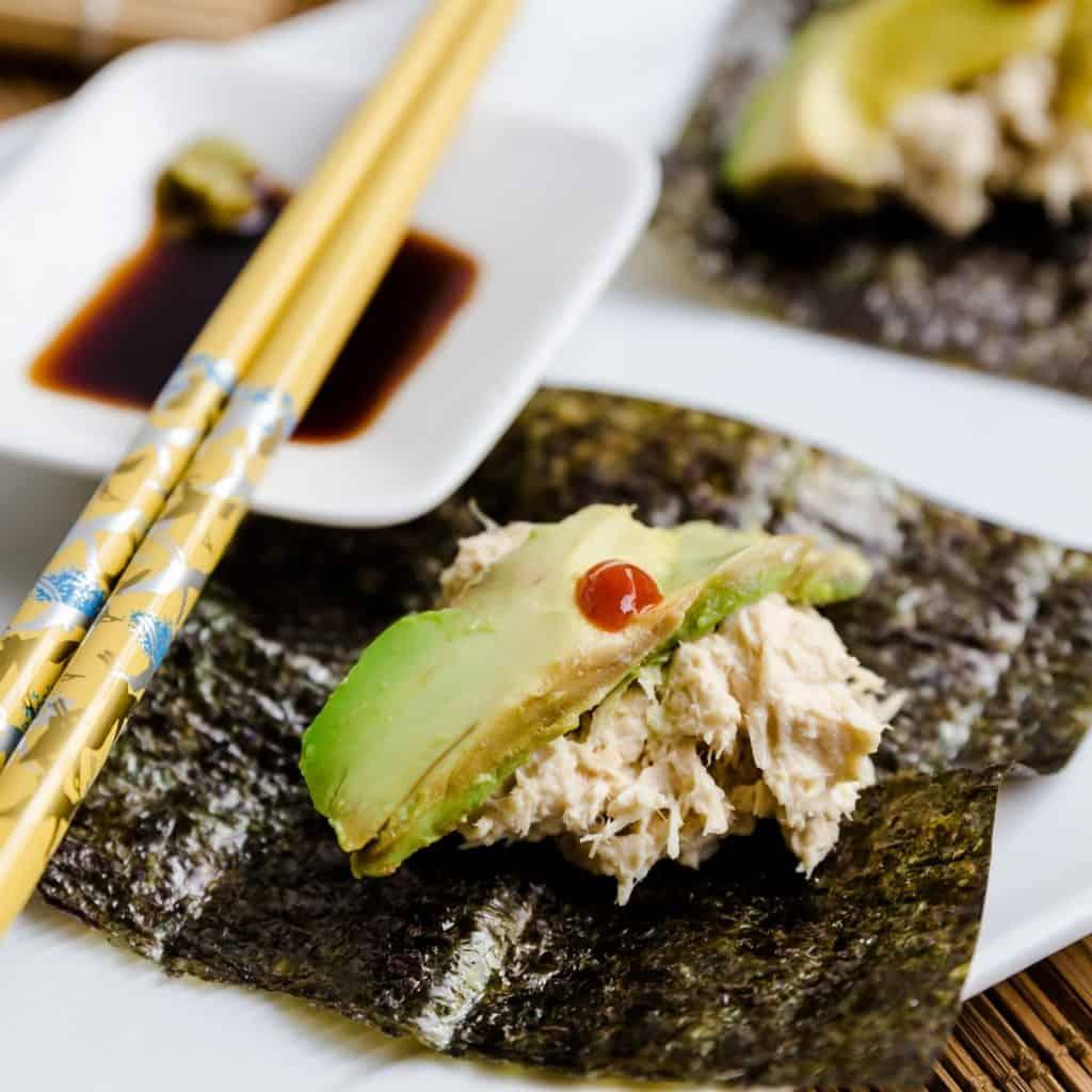 Keto Poor Man's Sushi pic