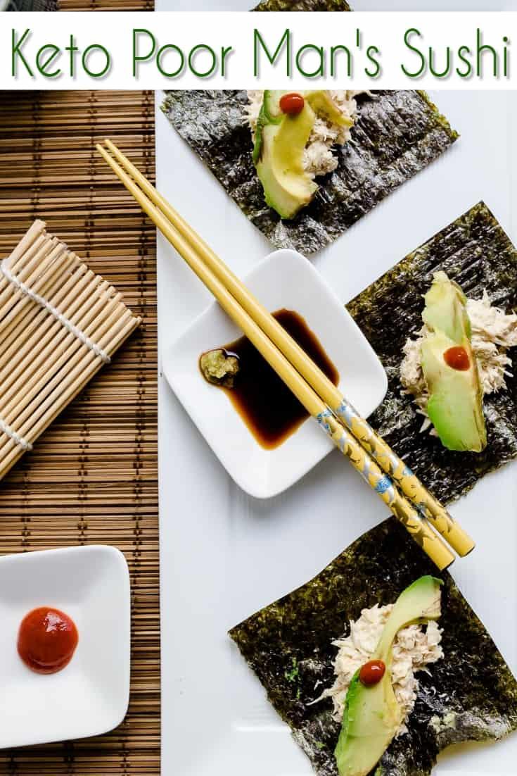 Keto Poor Man's Sushi pin 2