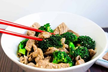Beef and Broccoli Stir Fry LowCarbingAsian Cover