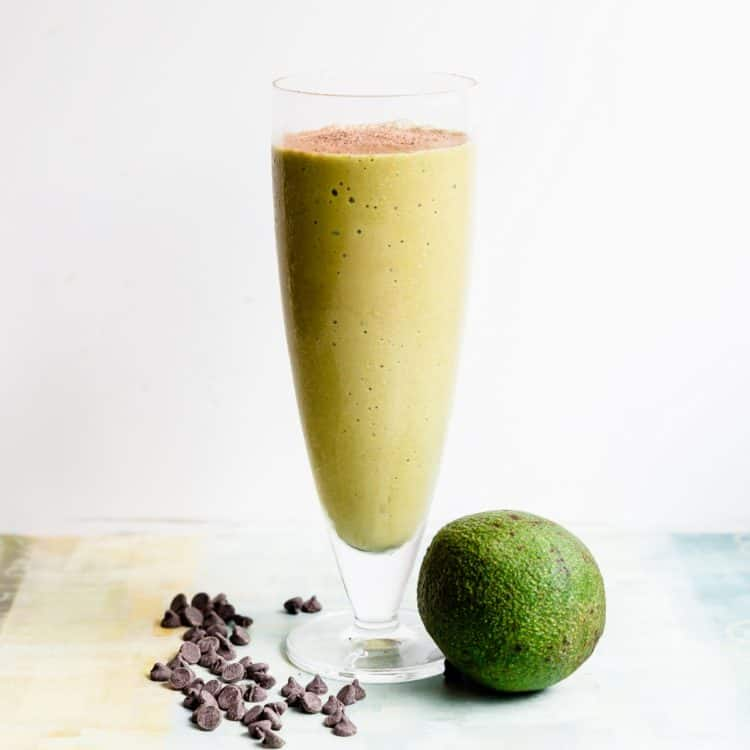 Keto Avocado Chocolate Smoothie Cover