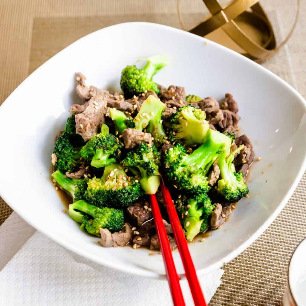 Keto Beef n Broccoli Stir Fry Pic 1