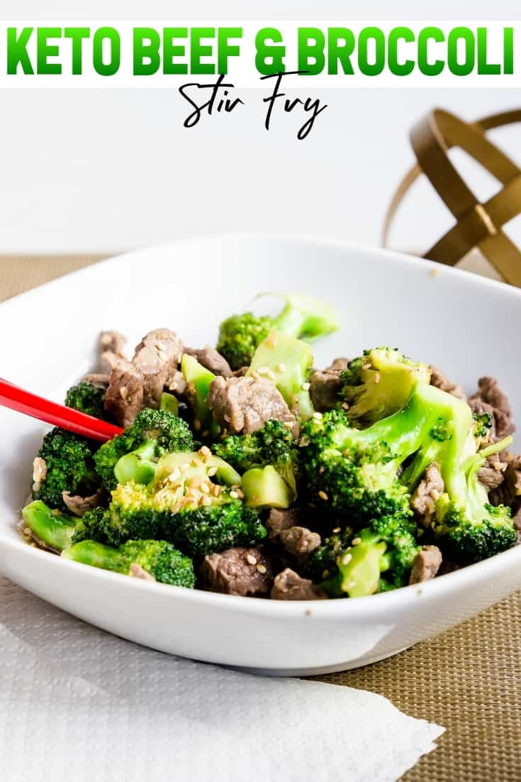 Keto Beef n Broccoli Stir Fry Pin 2